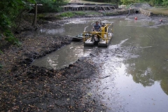 Stormwater Pond Muck Removal-2
