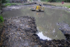 Stormwater Pond Muck Removal