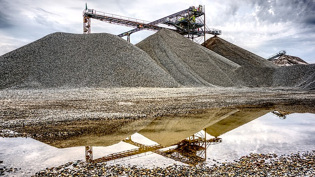 mining pond
