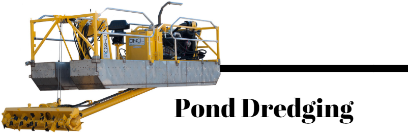 Pond Dredging Equipment | Pond Dredge | GeoForm International
