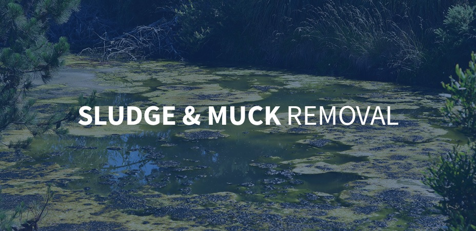 complete guide to sludge and muck removal banner