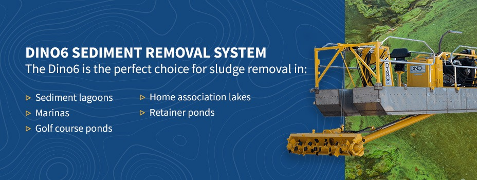 portable dredges for sludge removal banner