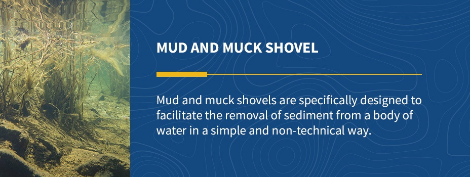 mud and muck shovel graphic